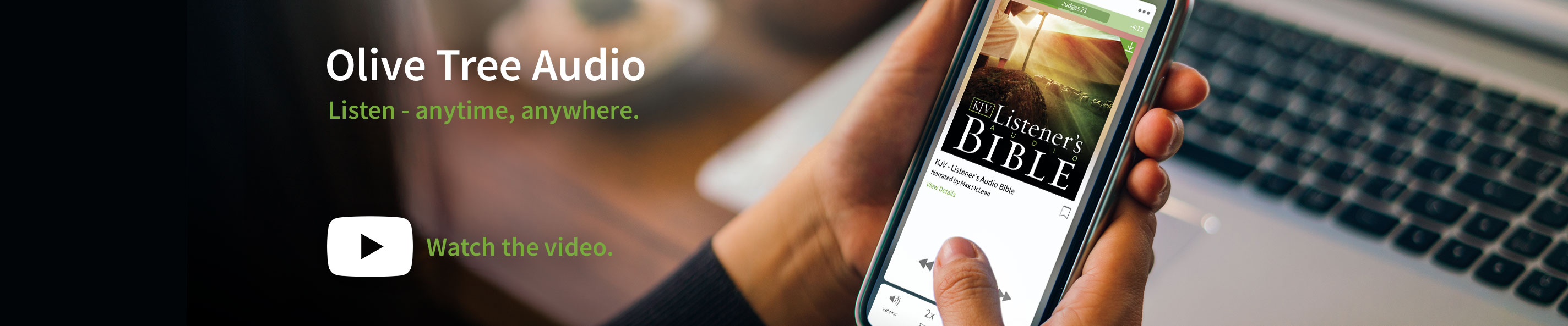 Audio Resources for the Olive Tree Bible App - Olive Tree